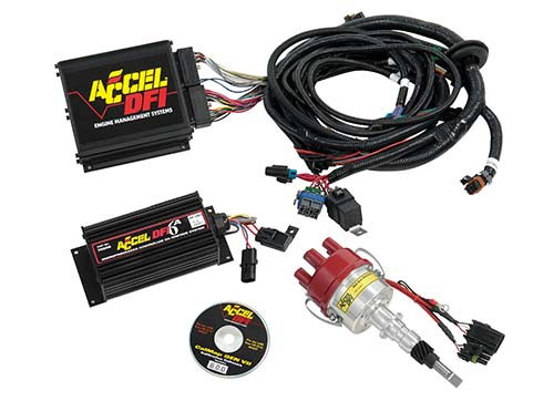 accel dfi 4 0 jeep fuel  spark kit with wiring harness w